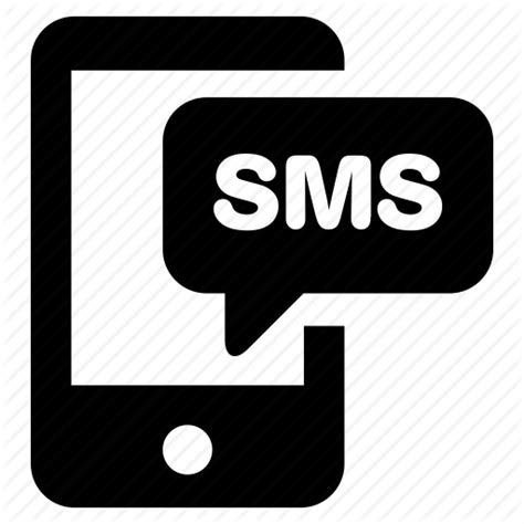 free sms message to mobile phone chat message mobile phone sms text texting icon