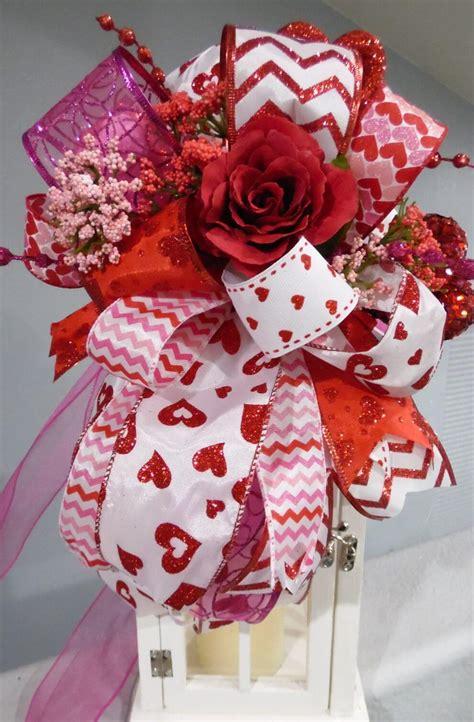 Pariss Pink B Day Swag by Valentines Day Decor Centerpiece Wedding Centerpiece