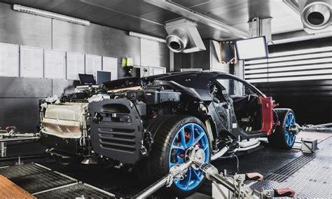 bugatti chiron engine bugatti chiron production well underway deliveries