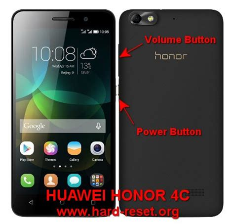 Hp Huawei Honor 4c Play how to easily master format huawei honor 4c huawei g play mini chm u01 with safety