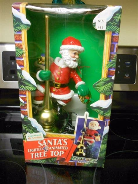 santa christmas tree toppers shop collectibles online daily