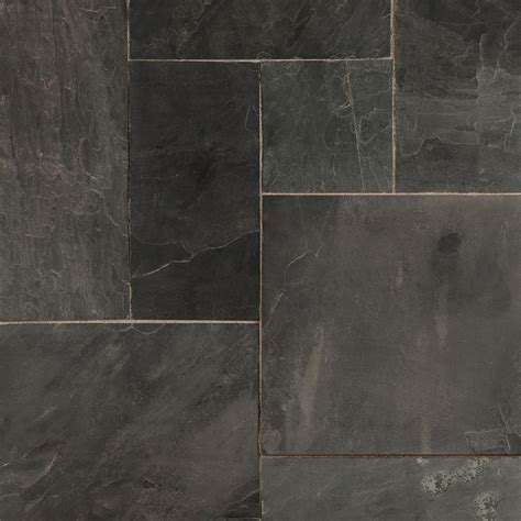 roterra slate tiles gsa collection indian black versailles pattern