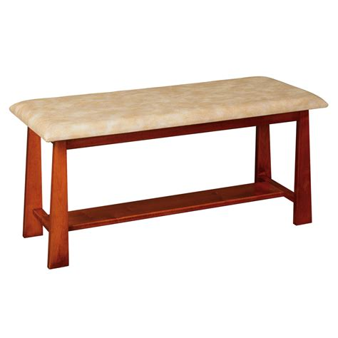 bedroom foot bench amish made bedroom benches upholstered end of bed benches