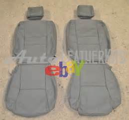 2007 Toyota Tundra Seat Covers 2007 2012 Toyota Tundra Crew Max Leather Seat Upholstery