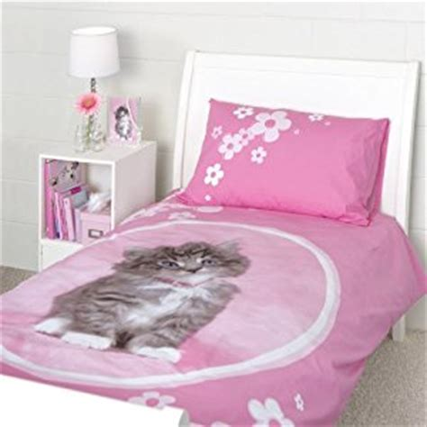 Kitten Bedding Set Rachael Hale So Sweet Kitten Duvet Cover Bed Set Co Uk Kitchen Home