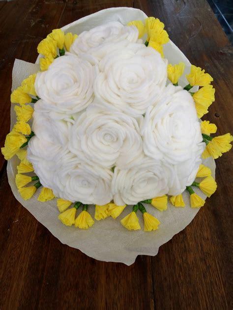 Mawar Putih Buket Putih Bouquet Putih jual buket bunga mawar putih tulang vs kuning dr flanel