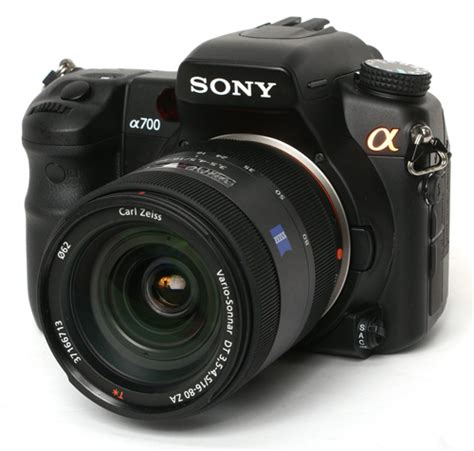 Kamera Sony Semi Pro sony alpha a700 digital slr review trusted reviews