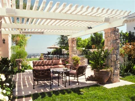 backyard terrace patio enclosures hgtv