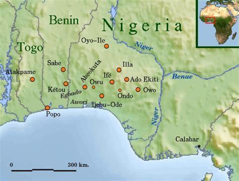 yoruba africa map who are the yoruba in benin republic culture 1 nigeria