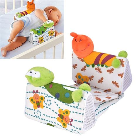 baby side pillow new fashion animal infant baby sleep positioners side