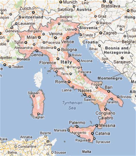 Google Images Italy | image gallery italian map google