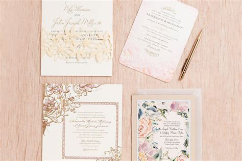 Where Can I Get Wedding Invitations by Where Do I Get Wedding Invitations Rectangle White Flower
