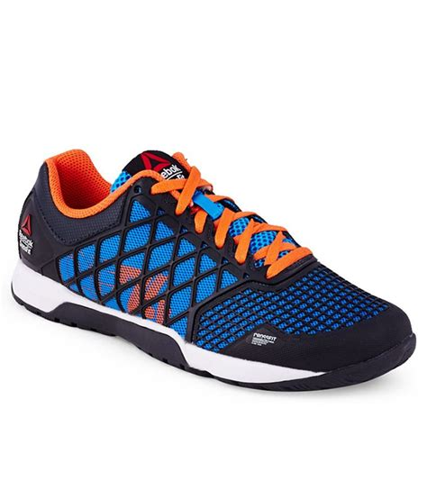 reebok crossfit kid shoes reebok r crossfit nano 4 blue sports shoes for price