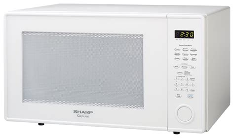 Microwave Oven Sharp R 249 In r 659yw 2 2 cu ft white countertop microwave sharp