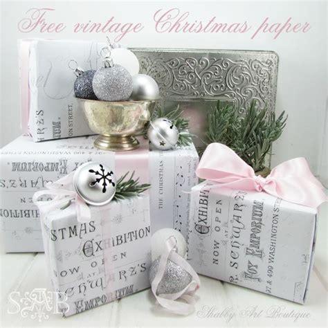 vintage christmas wrapping paper la boutique vintage