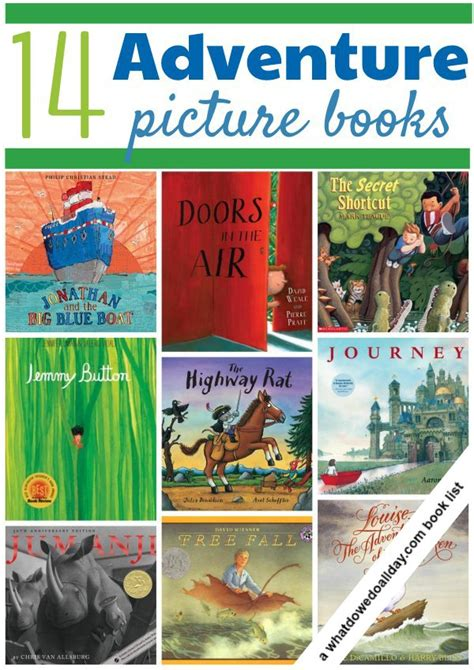 14 Adventure Picture Books For