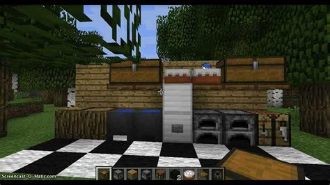 kitchen minecraft minecraft how to make a kitchen youtube