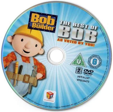 the best of bob bob the builder the best of bob 2009 television disc cover