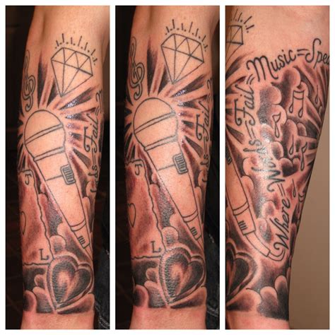 music sleeve tattoos musical tattoos sleeves www imgkid the image kid