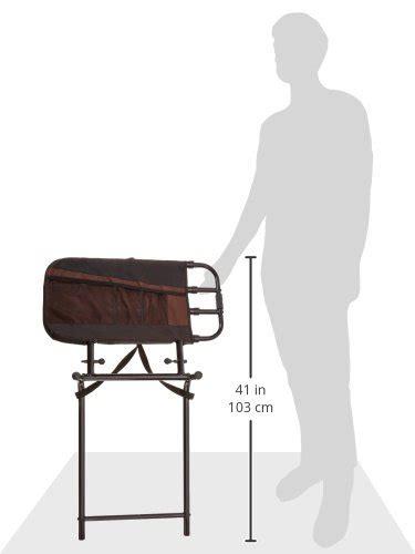stander ez adjust bed rail stander ez adjust pivoting adult home bed rail 3 pocket organizer