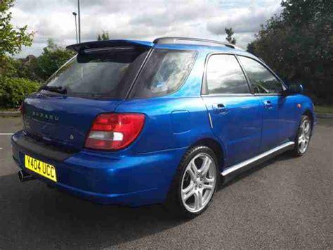 subaru wrx uk subaru impreza wrx estate 2001 uk car car for sale