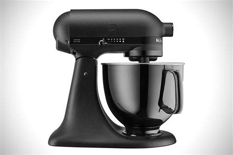 black tie stand mixer kitchenaid artisan black tie mixer hiconsumption