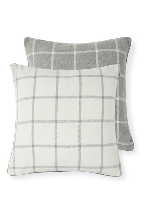 Primark Cusions home was never easy before with primark s grey and reversible cushion