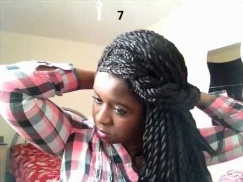 styles to do with short senegalese twist 10 hairstyles to rock with senegalese twists youtube