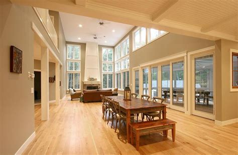 cottage open floor plan cottage home open floor plan lofty pinterest