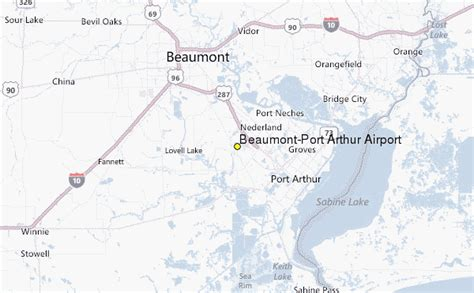port arthur texas map beaumont port arthur airport weather station record historical weather for beaumont port