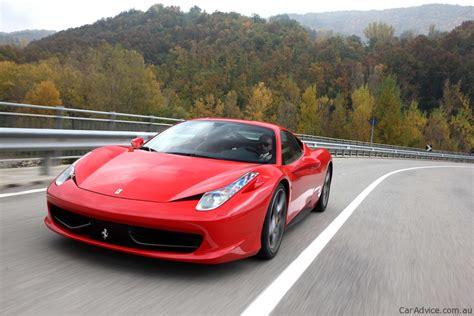 Ferrari 458 Italia Specifications by Ferrari 458 Italia Local Pricing And Specifications
