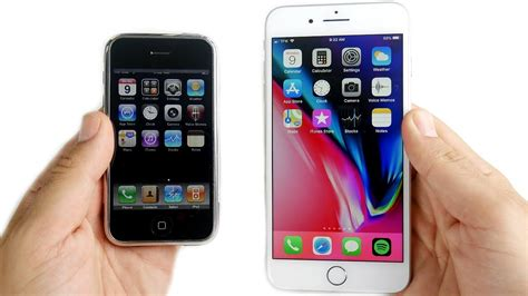 g iphone 8 iphone 2g vs iphone 8 plus speed test