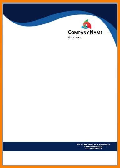 professional letterhead template word crescentcollege org