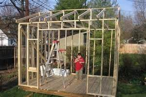 how to build a wood storage shed ehow