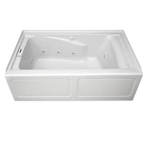 american standard chion apron 5 ft whirlpool tub with