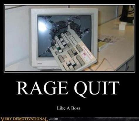 Rage Quit Meme - lfs forum the inevitable picture thread iv a new funny