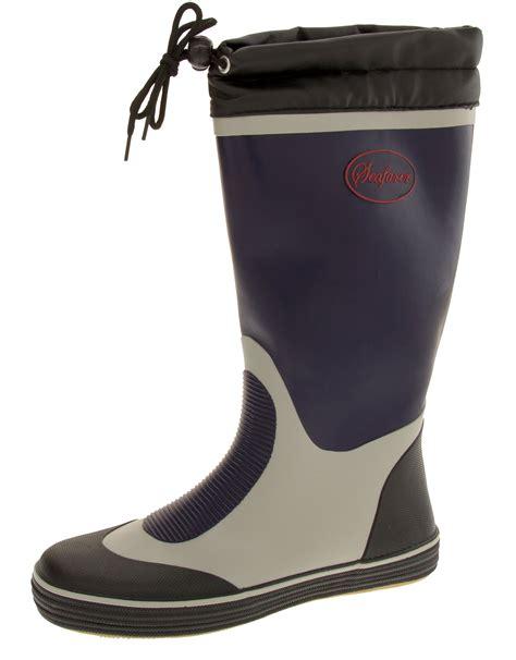 rubber boot height mens seafarer wellington boots tall waterproof rubber boot