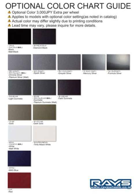 2015 gmc color chart autos post