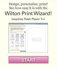 wilton print templates the world s catalog of ideas