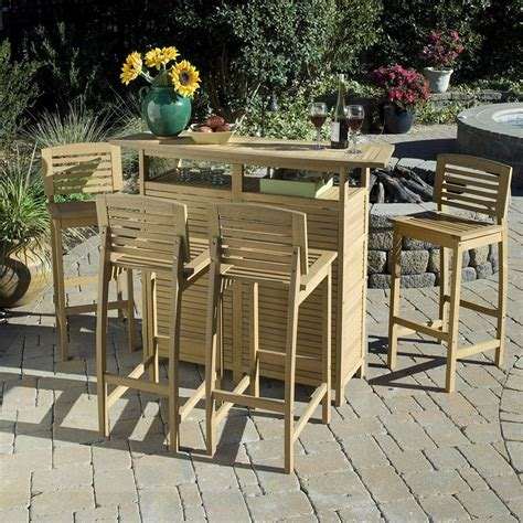Diy Outdoor Bistro Table Simple Diy Outdoor Bar Tips To Build For Your House Exterior