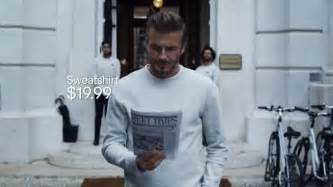 sprint commercial actress david beckham h m tv spot modern essentials selected by david beckham