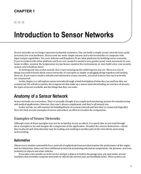 introduction to sensors books beginning sensor networks with arduino and raspberry pi