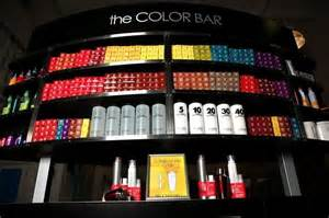 the hair and color bar color bar halo