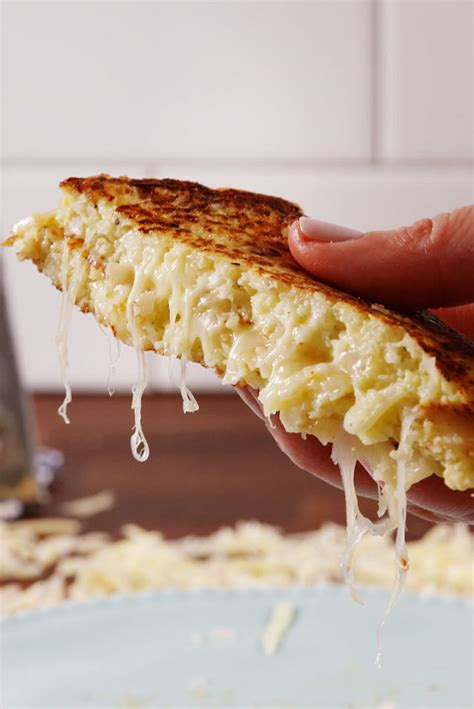 Cauliflower Grilled Cheese by Summer Is Coming It S Time To Eat Healthy Chasing The Bag