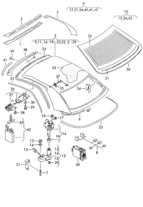 Audi Teilekatalog Online by Audi Teilekatalog Karosserie Dachrahmen Audi
