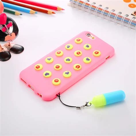 Casing Iphone 6 6s 3d Apple And X Custom Cover new 3d stand creative soft silicone cover for apple iphone 6 6s plus ebay