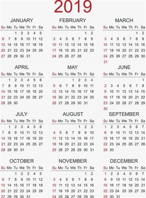 Calendrier E 2019 2019 Calendario Calendario 2019 Calendario Calendario 2019