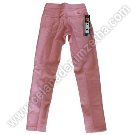 celana zetha denim anak warna dusty pink celana denim zetha