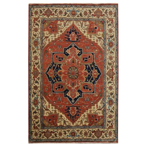 jacobsens rugs size 9 00 quot x 12 00 quot heriz wool rug from india