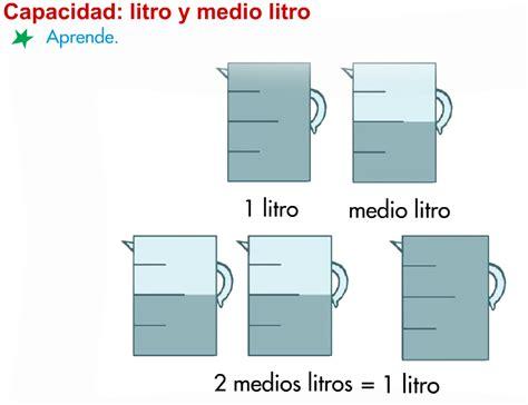 litros y litros de 8494340263 cinco horas en el rosario medidas de capacidad litro medio litro cuarto de litro